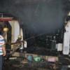दुकान में आग, भारी नुकसान