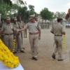 शहीद पुलिस कर्मियों का स्मरण