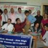 अंध विद्यालय के 65 बच्चों का स्वास्थ्य परीक्षण