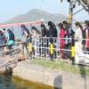 पर्यटकों की भीड़