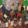 डीएवी के बच्चे मिले वेदान्ता आंगनवाड़ी के बच्चों से