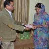 अर्चित वर्डिया के परिवार को एक लाख रुपए