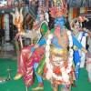 भगवान अयप्पा की शोभायात्रा