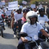 सडक सुरक्षा सप्ताह : सुरक्षा को लेकर वाहन निकाली रैली