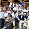 पत्रकार महामंत्री एकादश की टीम विजेता