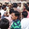 नाड़ाखाड़ा में पार्किंग को लेकर विरोध