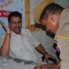 प्रोपर्टी डीलर भाजपा नेता पर दिन-दहाडे़ फायरिंग