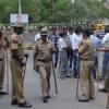 भाजयुमो कार्यकर्ताओं का कलक्ट्रेट में हंगामा