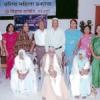 वयोवृद्ध समाजसेवी महिलाओं का सम्मान