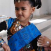 एमडीएस में बच्चों ने खेला गरबा