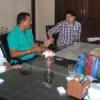 हंटर रुपी आदेश के आगे भागे शेर रूपी अधिकारी