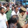 क्रिकेटर मेनारिया के समर्थकों ने किया प्रदर्शन