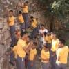 विमंदित बच्चों ने सुरम्य पहाडिय़ों में की सफाई