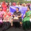50 महिलाओं को कम्बल वितरण