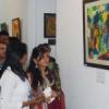 पेसिफिक के विद्यार्थियों ने लगाई पेंटिंग प्रदर्शनी