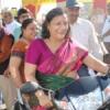 महिलाओं ने निकाली वाहन रैली