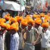 महाशिवरात्रि से पूर्व शहर में निकाली रैली