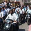 अधिवक्ताओं ने निकाली वाहन रैली
