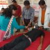 स्वैच्छिक रक्तदान शिविर में 14 यूनिट रक्तदान