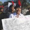 वानिकी दिवस पर एनसीसी कैडेट्स ने निकाली रैली