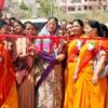 महिलाओं ने महिलाओं को दिया स्वालम्बन हेतु बढ़ावा