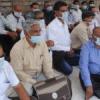 कलक्ट्रेट पर आयुष चिकित्सकों का मौन धरना
