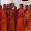 पूर्बिया समाज की महिलाओं ने मनाया होली मिलन