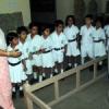 विरासत दिवस पर बच्चों को दिखाए पुरा शैल चित्र