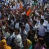 कटारिया के समर्थन में निकाली रैली