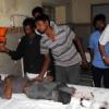 ट्रेलर-टेम्पो की टक्कर में तीन मरे, 10 घायल
