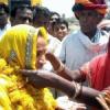 किरोड़ी की विजय संकल्प यात्रा का भींडर में स्वागत