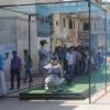 गणगौर घाट पर एड फिल्म की शूटिंग