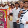 शनि अमावस्या पर लगी शनि मंदिरों में भीड़