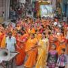 धूमधाम से निकली भगवान महेश की शोभायात्रा