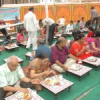 रोटरी सत्र समापन पर बोहरा गणेशजी पर प्रसादी