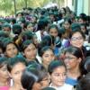 एमजी में लगा छात्राओं का जमावड़ा