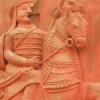 रेलवे स्टेशन पर प्रताप की मूर्ति खंडित