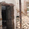 गणगौर घाट पर दीवार तोड़ने को लेकर आक्रोश