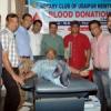 थैलीसीमिया बच्चों के लिए किया 21 यूनिट रक्तदान