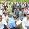 मंत्रालयिककर्मियों के आंदोलन में उदयपुर भी शामिल