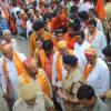 शिव सेना ने निकाली ललकार रैली