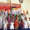 तीन सौ छात्रों ने किया प्रदर्शन देशभक्ति नृत्य स्पर्धा में