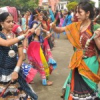 गुरु नानक गर्ल्स कॉलेज में थिरकी छात्राएं (pics)
