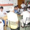 मधुमेह चिकित्सा शिविर में 76 लोगों की जांच
