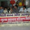 स्वास्थ्य शिविर में 350 बच्चों की निशुल्क जांच