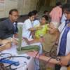 ढाई सौ से अधिक की निशुल्क जांच व दवा वितरण
