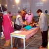 बाराबंकी में उपचार में लगे उदयपुर के चिकित्सक