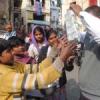 संक्रांति पर दान-पुण्य, खेलों की धूम