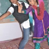 राजस्थानी व रीमिक्स पर थिरके छात्र-छात्राएं