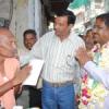 शहर के भीतरी इलाकों में पहुंचे रघुवीर